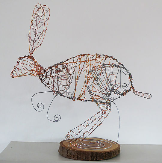 Mixed wire sculpture
