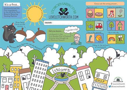 Letchworth Activity Sheet
