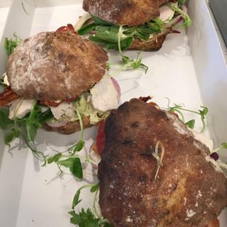 Take away sandwich Fuglsø Kro