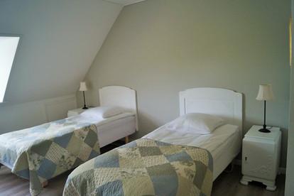 Det grønne værelse på Fuglsø Kro Bed & Breakfast