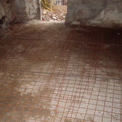 Reinforcing living room floor