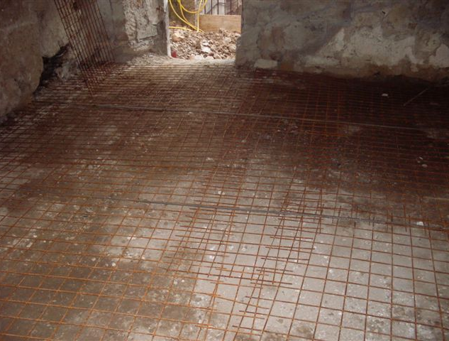 Reinforcing living room floor