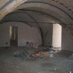 Living room vaults reinforced