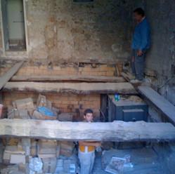 Original Master Bedroom floor