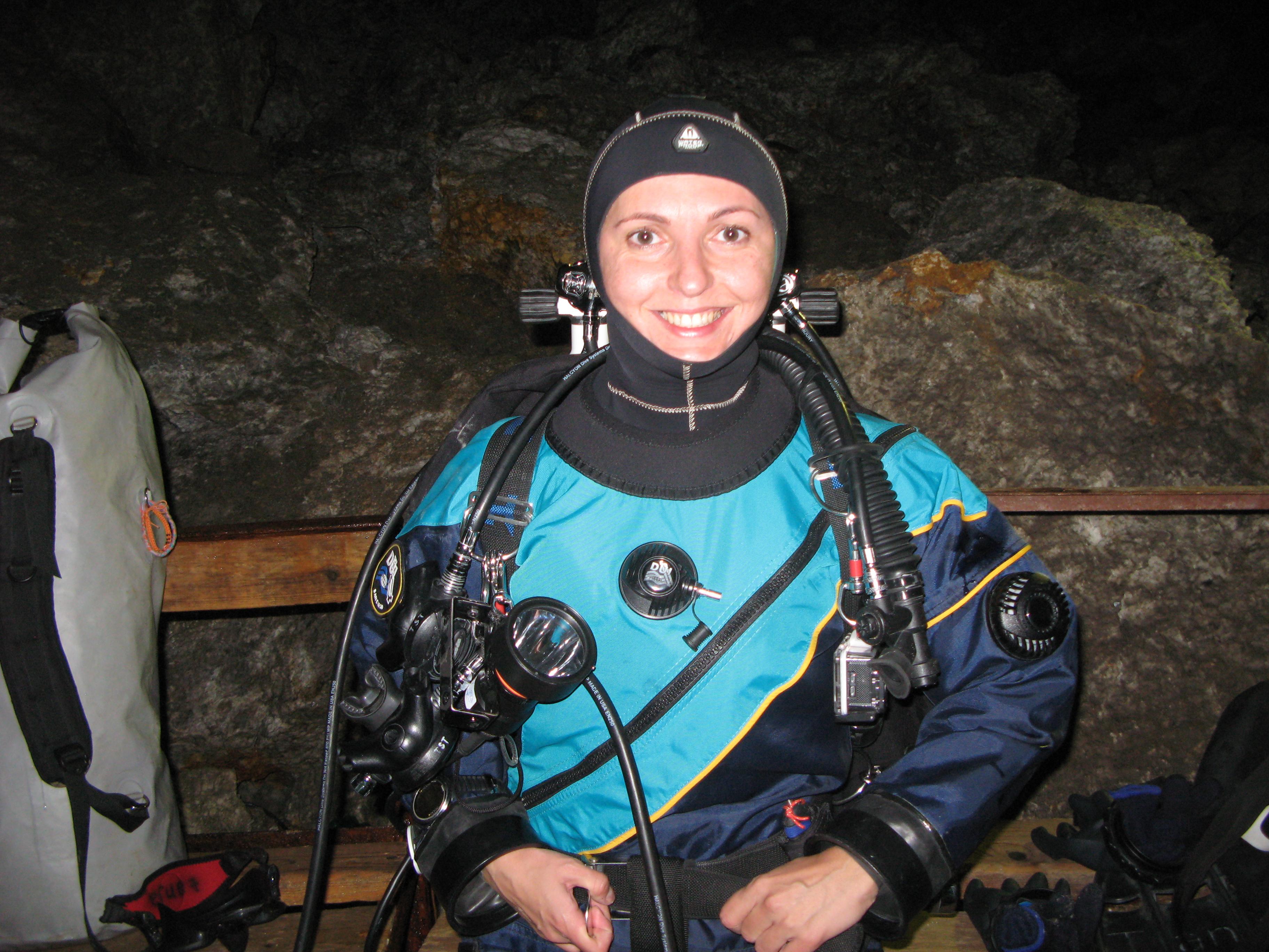Таня. Ординская пещера.