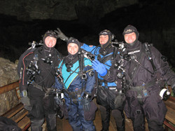 Наша веселая пещерная команда