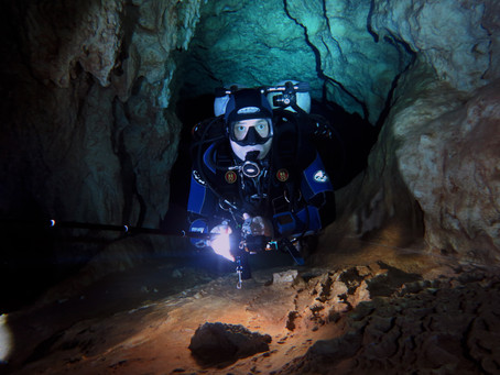 Пещерный дайвинг в Доминиканской Республике.