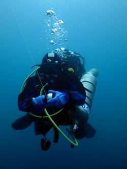 Deep diver PADI