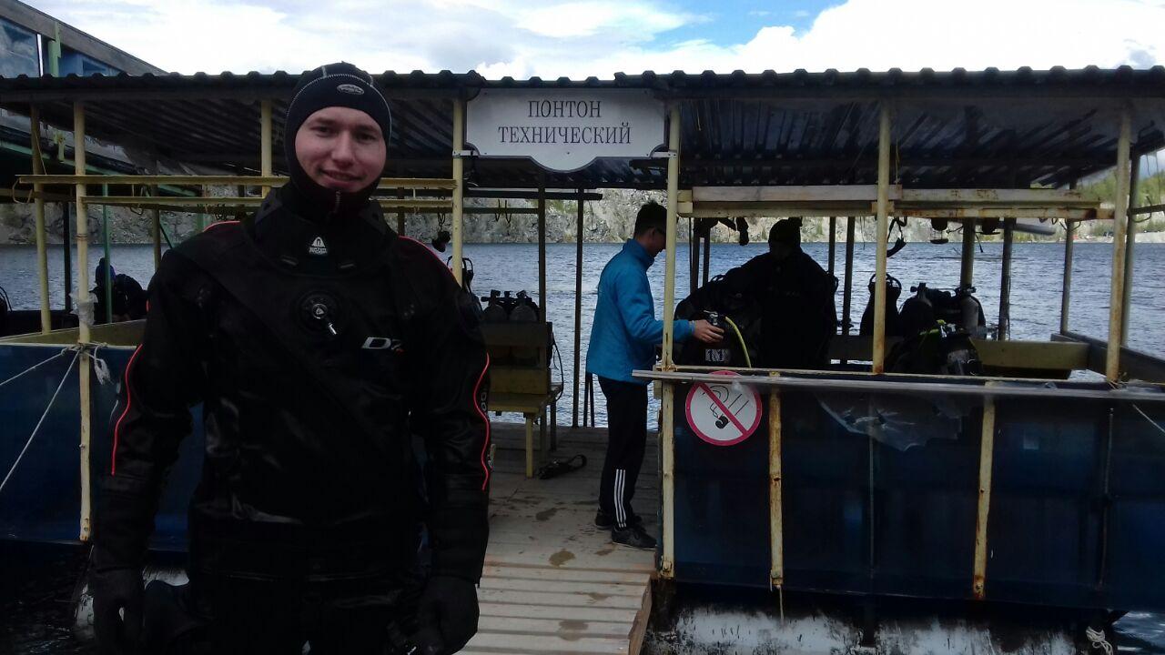 Обучение дайвингу в Екатеринбурге