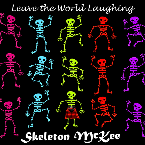 CD - Leave The World Laughing