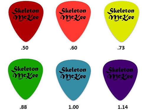 Skeleton McKee Guitar Picks