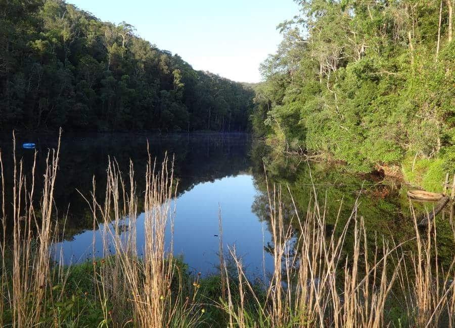 Magnificent Ecovillage dam
