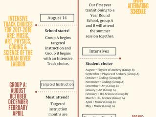 Transitioning to a Year Round School schedule.