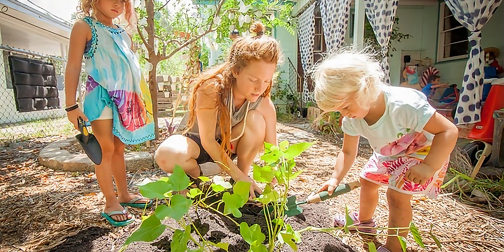 Permaculture (Ages 5-8) 10:45am-11:45am   Fridays