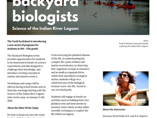Backyard Biologists