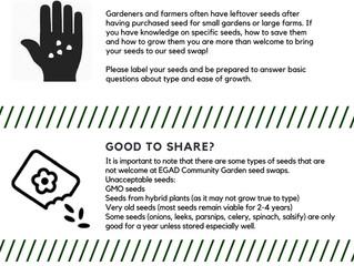 Seed & Plant Swap!