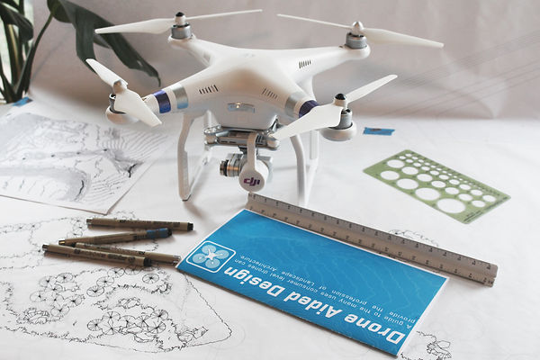 Drone Aided Design Drone use for landscape architects