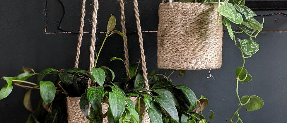 Jute Hanging Baskets