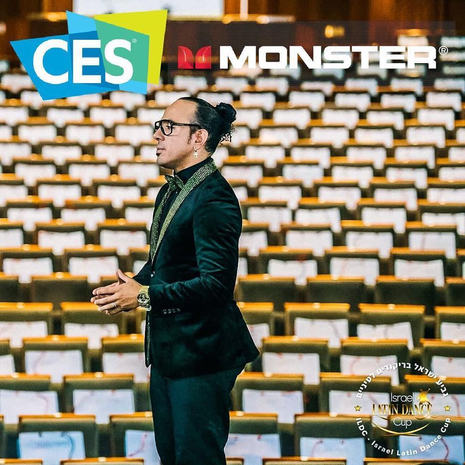 Spokesperson for Monster @CES