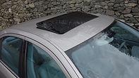 Glazed black hatch - sliding W211 pavili