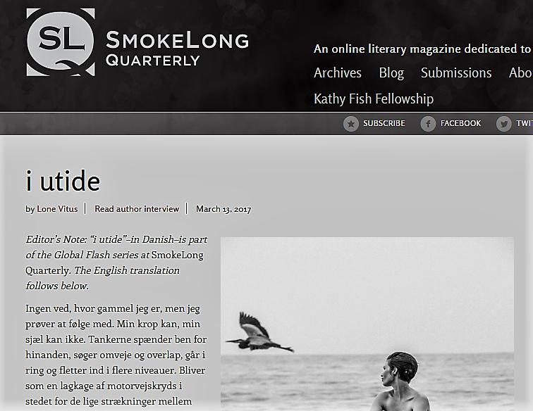 I utide SmokeLong Quarterly