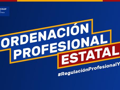 Las aportaciones del Consejo COLEF a la consulta pública de la ley de #RegulaciónProfesionalYa