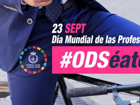 Día Mundial de las Profesiones: #ODSéate y contribuye a un mundo mejor