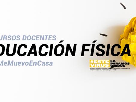Nuevo espacio 'Recursos docentes EF #YoMeMuevoEnCasa'