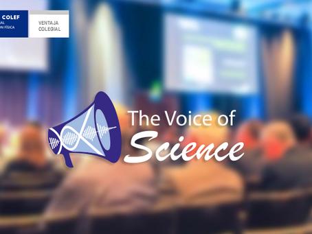 Descuento en los servicios de The Voice of Science para todos/as los/as EFD de España