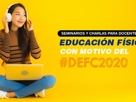 Charlas gratuitas para docentes de EF en el #DEFC2020