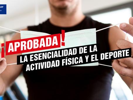 Se aprueba en el Congreso que la actividad física y el deporte se declaren esenciales