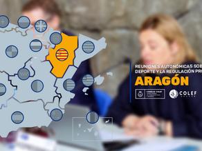 Reuniones autonómicas sobre la ley del deporte y la regulación profesional: Aragón