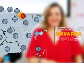 Reuniones autonómicas sobre la ley del deporte y la regulación profesional: Navarra