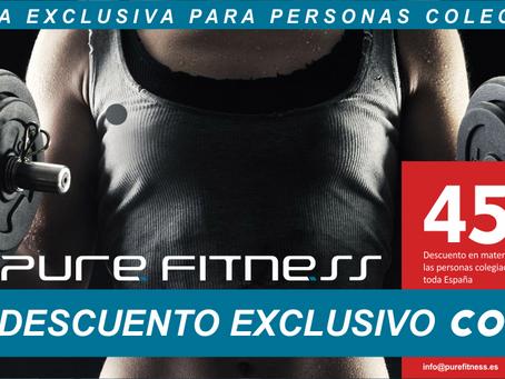 El Consejo COLEF firma un convenio con Pure Fitness para que los/as educadores/as físico deportivos/