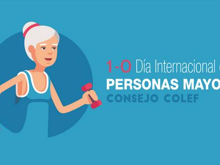 Día Internacional de las Personas Mayores: envejecimiento activo a través del ejercicio