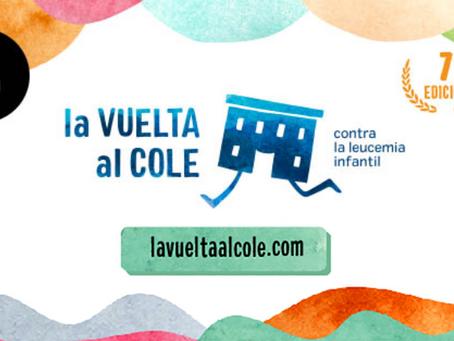 Apoyamos un año más 'La Vuelta al Cole' contra la leucemia infantil, ¿te sumas con nosotros?
