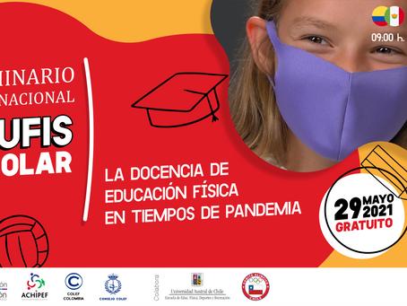 I Seminario Internacional de #edufis, próximo 29 de mayo y gratuito. ¡Apúntate!