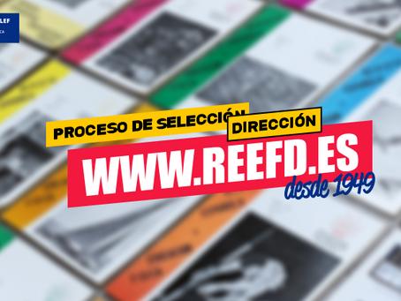 Candidaturas finalistas a la dirección de la Revista Española de Educación Física y Deportes (REEFD)