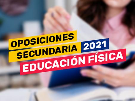 Oposiciones Secundaria 2021: Educación Física