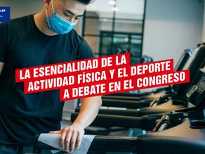 La esencialidad de la actividad física y el deporte a debate en el Congreso