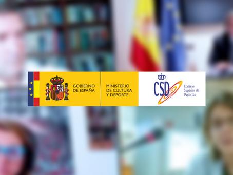 El Consejo COLEF ofrece su colaboración al CSD para la #RegulaciónProfesionalYA