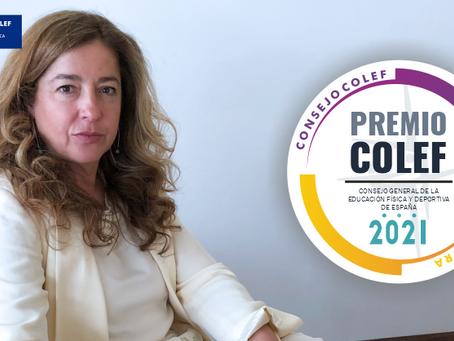 Dña. Leonor Gallardo, galardonada con el Premio Consejo COLEF 2021