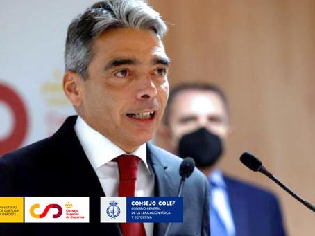 Ley del Deporte y #RegulaciónProfesionalYA como ejes de la reunión entre CSD y Consejo COLEF