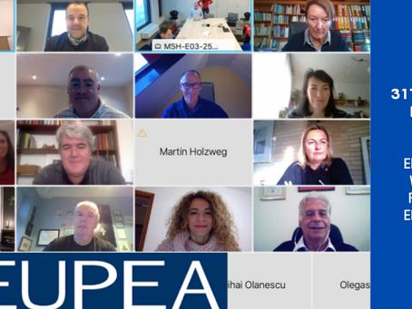 El Consejo COLEF presente en el Forum 2020 de EUPEA
