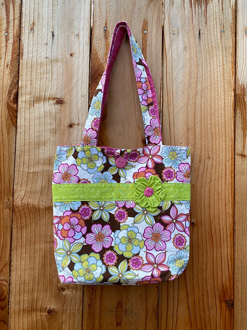 Funky Floral On The Go Bag