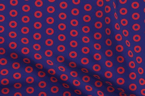 Phish Donut Fabric - Additional Back Fabric Choice