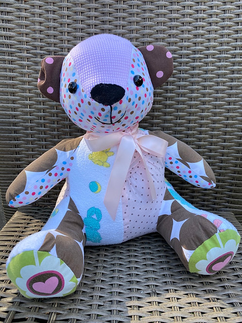 Memory Bear from Your Baby Clothes