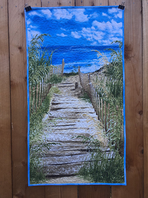 Boardwalk To The Beach Wall Hanging