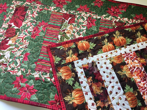 Fall & Holiday Table Runner