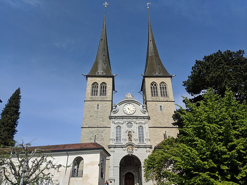Church of St Leodegar Lucerne
